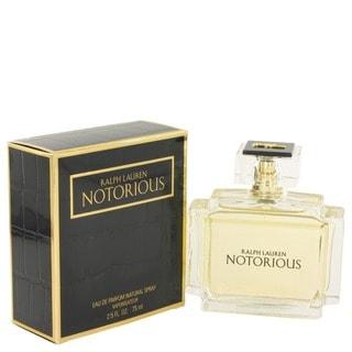 Ralph Lauren Notorious Women's 2.5-ounce Eau de Parfum Spray