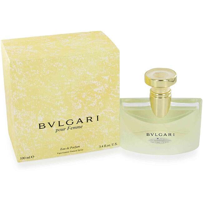 Bvlgari Women's 3.4-ounce Eau de Parfum Spray, Yellow, Si...