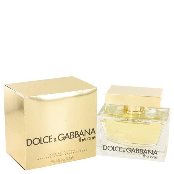 48a78446 Shop Dolce & Gabbana The One Women's 2.5-ounce Eau de Parfum Spray - Free  Shipping Today - Overstock - 4255590