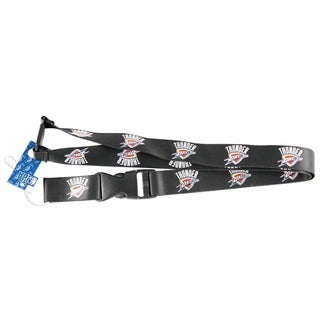 Oklahoma City Thunder Lanyard Keychain/ ID Holder