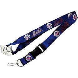 New York Mets Keychain/ ID Holder Clip Lanyard