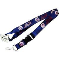 New York Mets Keychain/ ID Holder Clip Lanyard