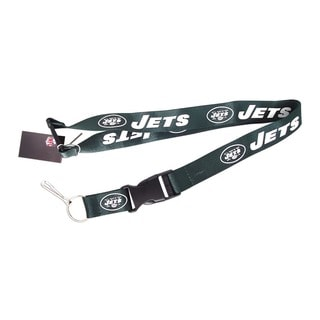 New York Jets Keychain/ ID Holder Clip Lanyard