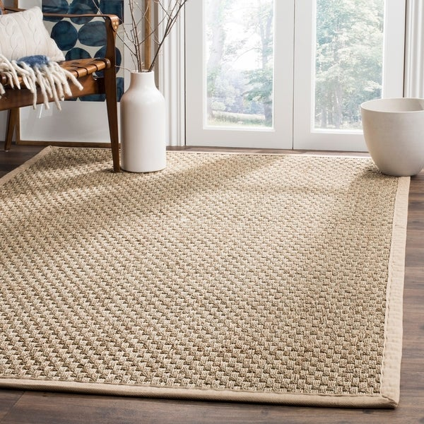 Safavieh Natural Beige Seagrass Area Rug - 9' x 12'