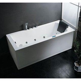 whirlpool bathtub.  Jetted Tubs For Less Overstock com