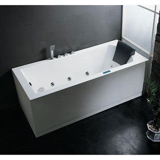 Ariel AM154 Caribbean Whirlpool Tub|https://ak1.ostkcdn.com/images/products/4256911/Ariel-AM154-Caribbean-Whirlpool-Tub-P12244118.jpg?impolicy=medium