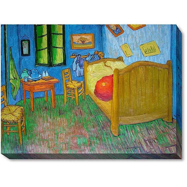 vincent van gogh 'vincent's bedroom at arles' oil canvas art