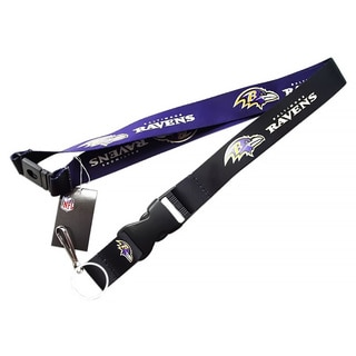 Baltimore Ravens Clip Lanyard Keychain ID Holder