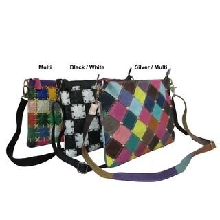 Amerileather Zigzagger Shoulder Bag