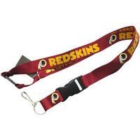 Washington Redskins Lanyard Keychain/ ID Holder