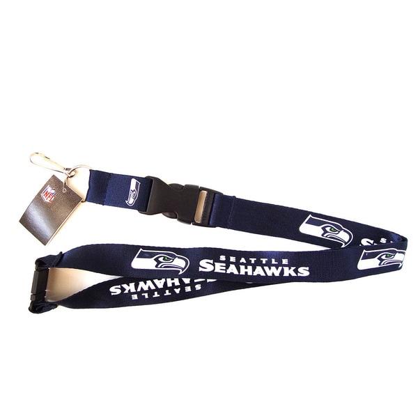 Seattle Seahawks NFL Lanyard Keychain ID Holder