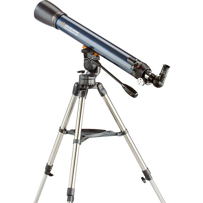 Shop Celestron Astromaster 90mm Refractor Telescope Free Shipping Today Overstock 4265251