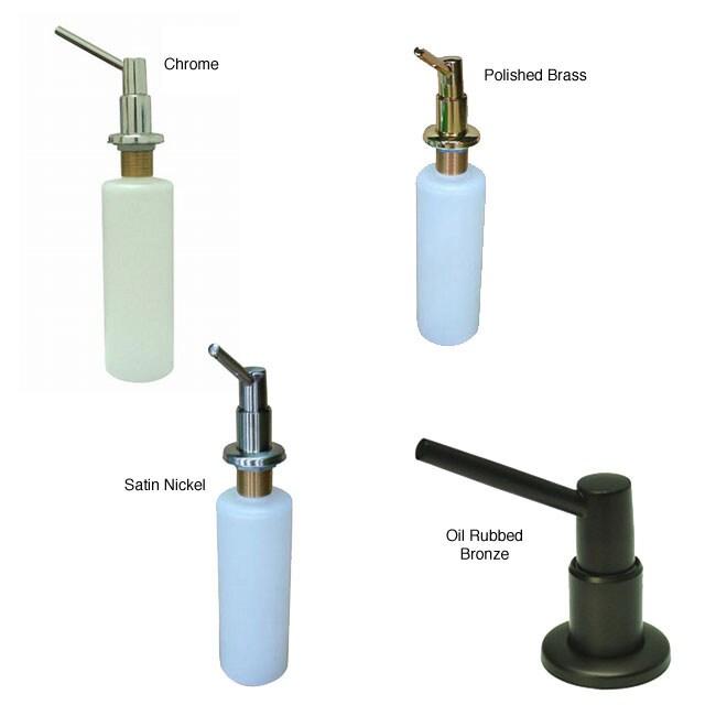 Elinvar Soap Dispenser