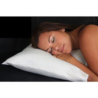 Memory Foam Noodle Pillow with Certified Organic Cotton Cover