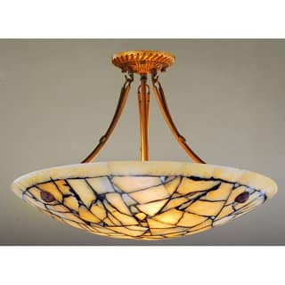Alabaster Stone Five-Light 60-Watt Ceiling Lamp https://ak1.ostkcdn.com/images/products/4268139/P12253200.jpg?impolicy=medium