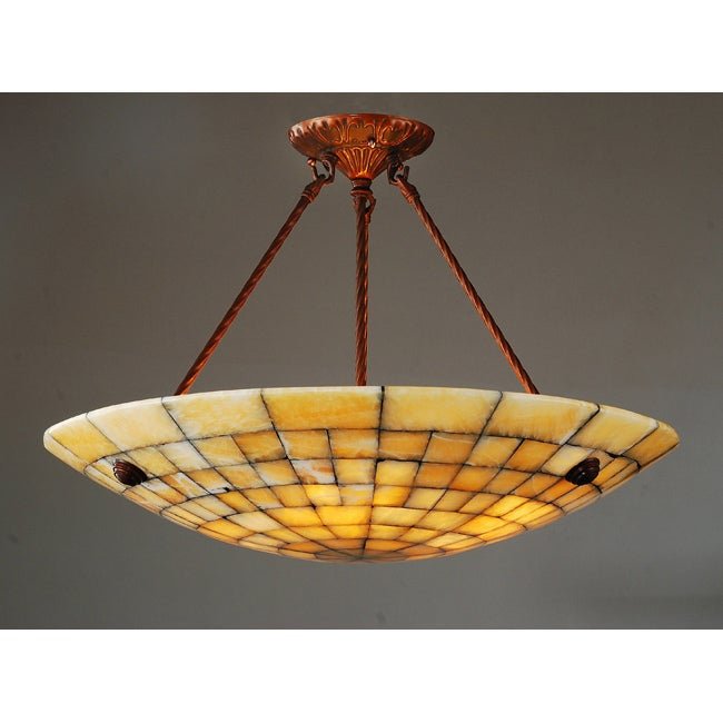 Alabaster Stone 5-light Ceiling Lamp