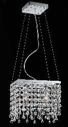 Mini Two-light Crystal Chandelier - Thumbnail 2