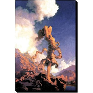 Maxfield Parrish 'Ecstasy' Gallery-Wrapped Canvas Art