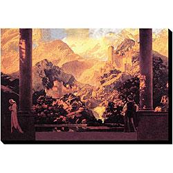 Maxfield Parrish 'Fairy Tale Romance' Canvas Art