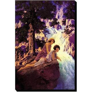 Maxfield Parrish 'Waterfall' Canvas Art