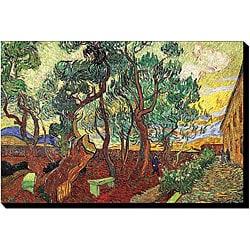'Garden Of The Asylum' Gallery-wrapped Canvas Art