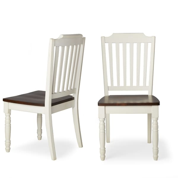 Perfect Mackenzie Country Style Two Tone Dining Chairs (Set Of 2) By INSPIRE Q  Classic   Free Shipping Today   Overstock.com   12253663