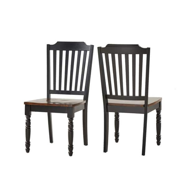Superb Shop Mackenzie Country Style Two Tone Dining Chairs Set Of Pabps2019 Chair Design Images Pabps2019Com