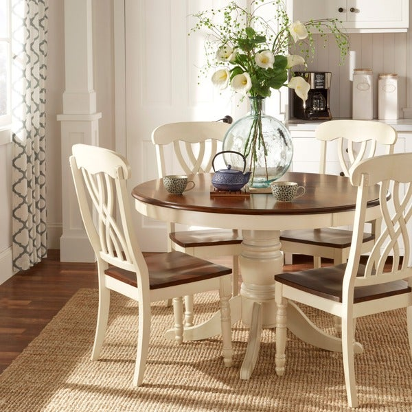 Mackenzie Country Style Two-tone Side Chairs (Set of 2) by TRIBECCA HOME