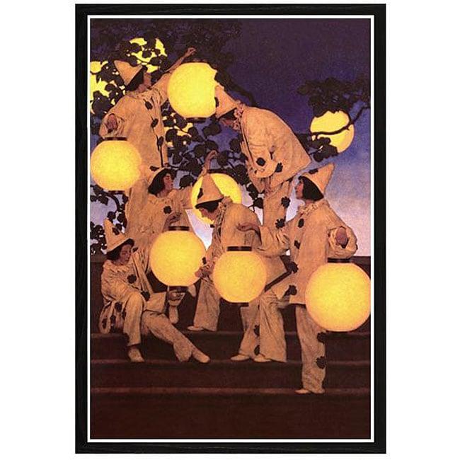 Maxfield Parrish 'Lantern Bearers' Framed Print Art