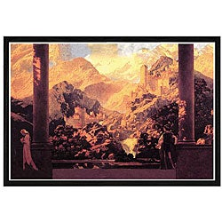 Maxfield Parrish 'Fairy Tale Romance' Framed Print Art