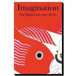 'Imagination' Giclee Gallery-wrapped Canvas Art