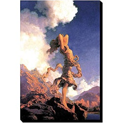 "Maxfield Parrish ""Ecstasy"" Giclee Gallery-wrapped Canvas Art"