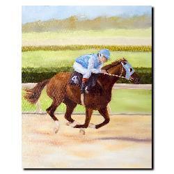 Michelle Moate 'Horse of Sport II' Canvas Art - Thumbnail 1