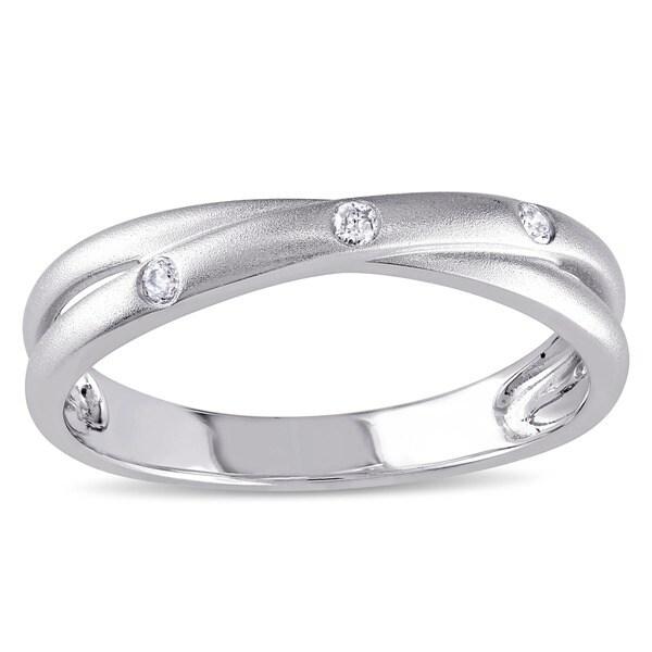 Miadora 10k White Gold Diamond Accent Ring (I-J, I2-I3)