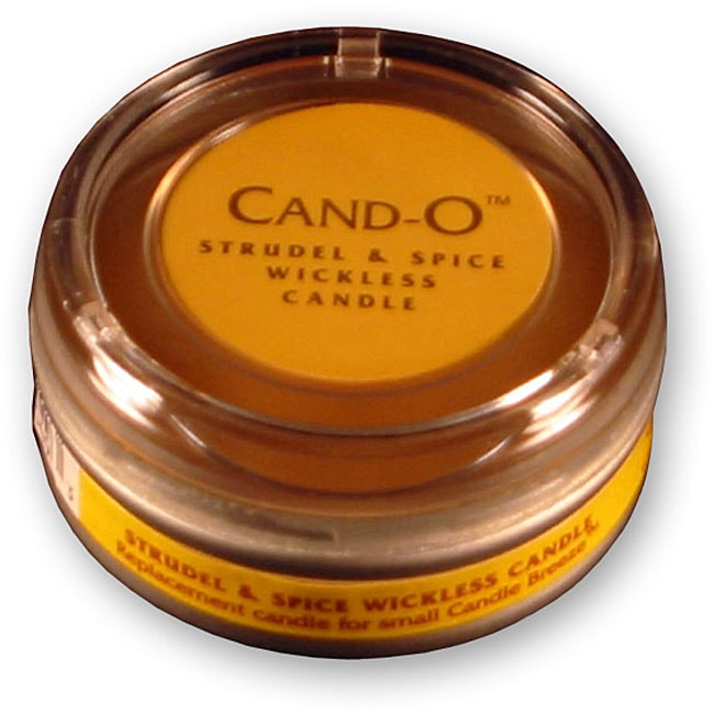 Cand-O Strudel and Spice Small Wickless Candle - Thumbnail 0
