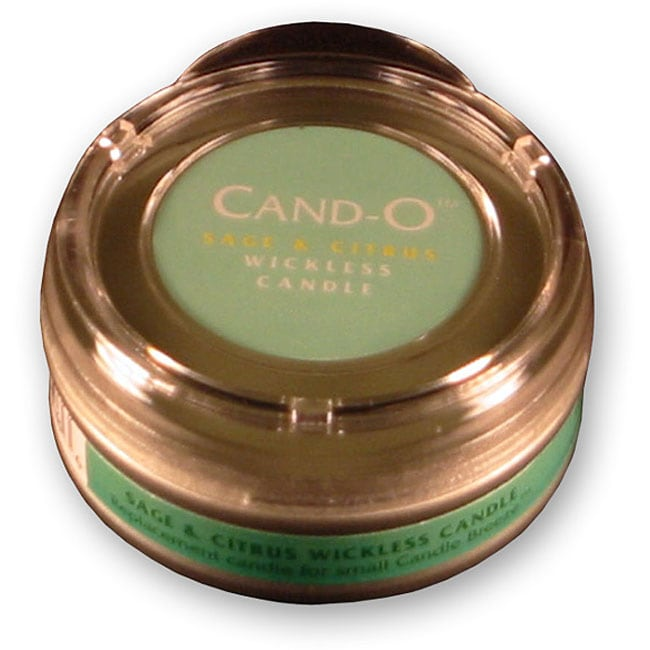 Cand-O Sage and Citrus Small Wickless Candle