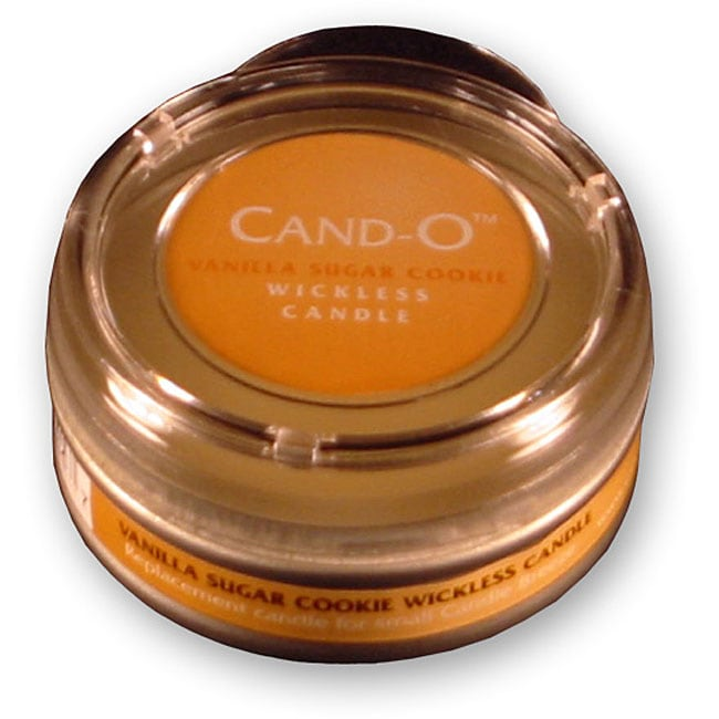 Cand-O Vanilla Small Wickless Candle