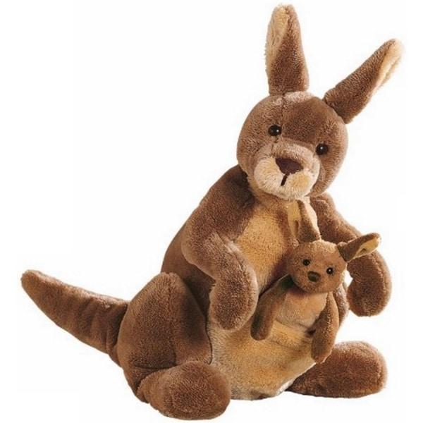 Gund Jirra Kangaroo Stuffed Animal Toy