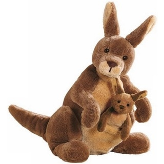 Shop Gund Jirra Kangaroo Stuffed Animal Toy Free
