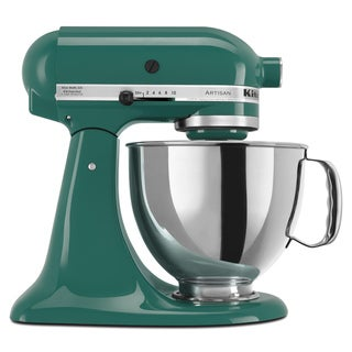 KitchenAid KSM150PSBL Bayleaf 5-quart Artisan Tilt-Head Stand Mixer with $50 Rebate