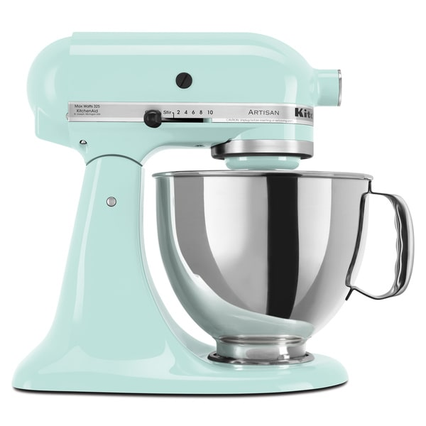 Kitchenaid Artisan Stand Mixer Colors ~ Kitchenaid ksm psic ice quart artisan tilt head stand