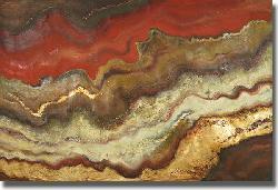 Patricia Pinto 'Tierra I' Canvas Art - Thumbnail 1