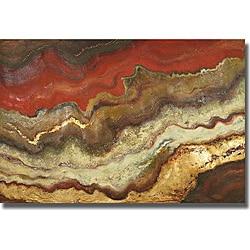 Patricia Pinto 'Tierra I' Canvas Art