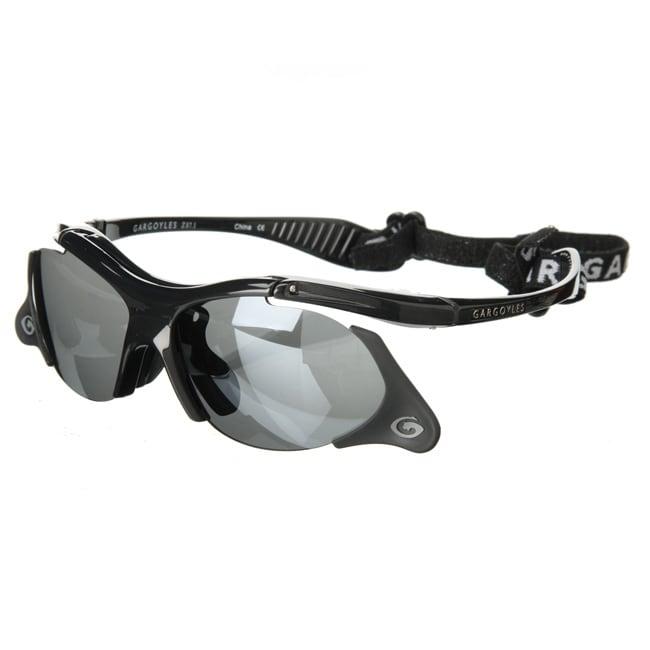 Gargoyle 'Rover Flip 8' Black/ Smoke Men's Sunglasses
