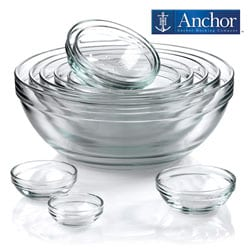 Anchor Hocking 10-piece Nesting Mixing Bowl Set
