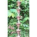 Monarch Pure Copper Butterfly Rain Chain 8.5-Foot Inclusive of Installation Hanger