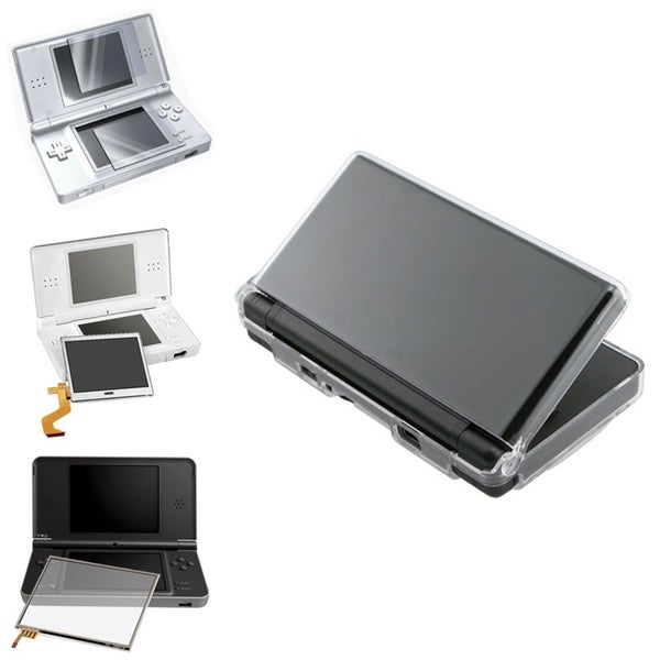 LCD Screen Replacement Set + Cover for Nintendo DS Lite