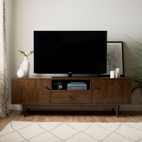 Strick Bolton Lawrence Brown Rubberwood Entertainment Center