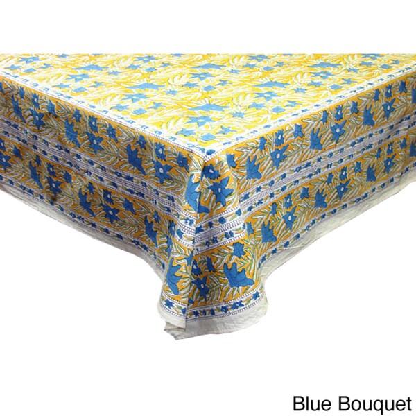 Fair Trade Maharaja Table Cover and Napkin Set (India)