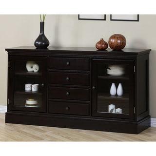 Espresso 4-drawer Buffet